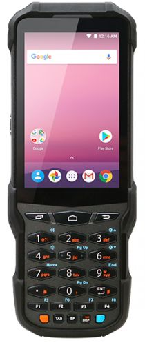 Фото - Терминал сбора данных PointMobile PM550 P550GPR3398E0T Wi-Fi/BT, 1D/2D Imager(N6603ER), NUMERIC, STD(6500mAh), QVGA, 2GB/16GB, Android 7.1.2(GMS) w/ G терминал сбора данных pointmobile p260ep12134e0t 2d 2200 ма·ч li ion point mobile pm260 2d bt 802 11 bg 256 256 wce6