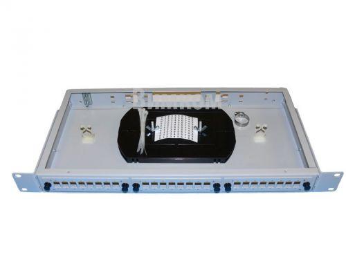 Кросс оптический стоечный Vimcom СКРУ-1U19-B24-FC/ST AD-FCD-MM+PT-MM50-FC-1+КДЗС 1U 19