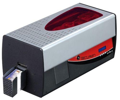 Принтер для печати пластиковых карт Evolis Securion SEC101RBH 300 dpi, двусторонний, с ламинатором