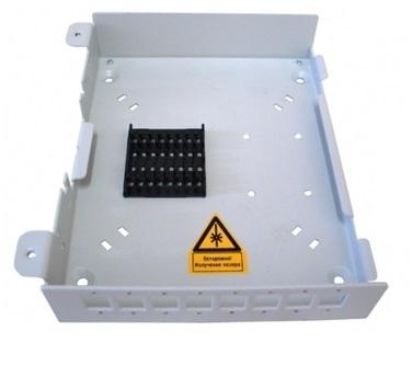 Кросс оптический настенный TopLAN КРН-Top-16SC на 16 SC адаптеров,