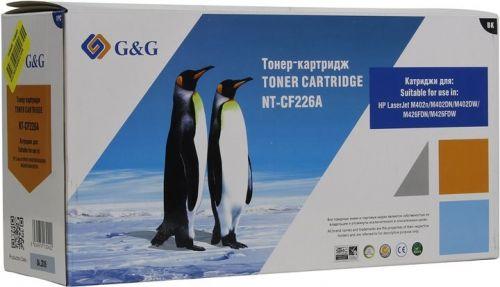 Картридж G&G NT-CF226A для HP LaserJet Pro400 M402n/dn/dw MFP M426 dw/fdn/fdw (3100стр)