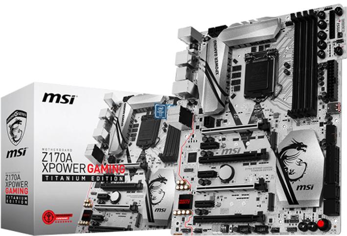 MSI Z170A XPOWER GAMING TITANIUM EDITION
