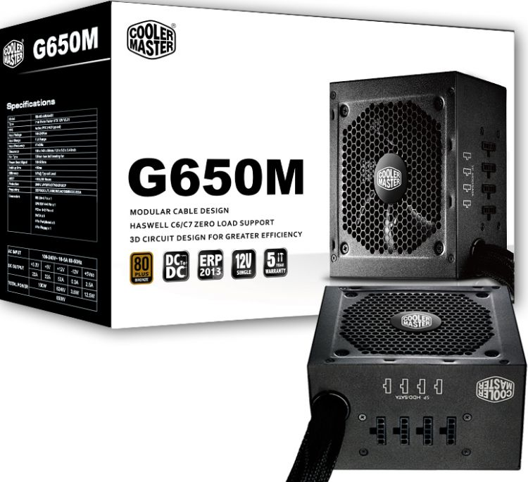 Cooler Master G650M (RS650-AMAAB1-EU)