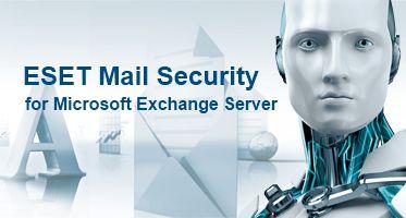 Eset Mail Security для Microsoft Exchange Server for 190 mailboxes продление 1 год