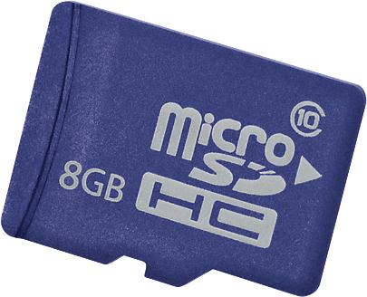 Hewlett-Packard Карта памяти 8GB HP 726116-B21 microSD Enterprise Mainstream Flash Media Kit