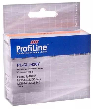 Фото - Картридж струйный ProfiLine PL-CLI-426Y-Y PL-CLI-426Y с чипом для принтеров Canon Pixma IP4840/MG5140/MG5240/MG6140/MG8140 Yellow водн ProfiLine картридж profiline pl