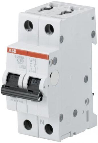 Фото - Автоматический выключатель ABB 2CDS251103R0164 S201 1P+N 16А (С) 6кА автоматический выключатель abb 2cds251103r0104 s201 1p n 10а с 6ка
