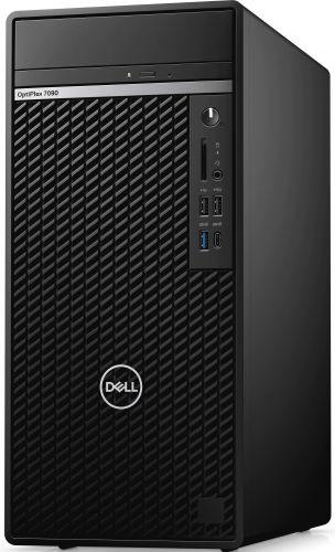 Фото - Компьютер Dell Optiplex 7090 Tower i7-10700/8GB/256GB SSD/RX 640 4GB/TPM/SD/Win10Pro компьютер dell precision 3440 sff i7 10700 16gb 512gb ssd intel uhd 630 sd tpm dp win10pro