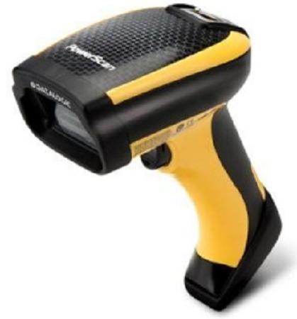 Сканер штрих-кодов Datalogic PM9500-HP433RBK10 Сканер ШК (ручной,HP Liquid Lense,433 Mhz радио) PowerScan M9500HP RB, в комплекте с базовой станцией,