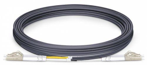 Кабель патч-корд волоконно-оптический TopLAN DPC-TOP-OM3-LC/P-LC/P-30 дуплексный, LC/PC-LC/PC,OM3 MM 50/125, 30 м кабель патч корд волоконно оптический toplan dpc top om4 lc p lc p 3 0 дуплексный lc pc lc pc om4 mm 50 125 3 0 м