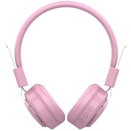 Наушники беспроводные HIPER LIVE QTX4 розовые