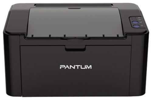 Принтер монохромный Pantum P2207 А4, 20 стр/мин, 1200 X 1200 dpi, 64Мб RAM, лоток 150 л, USB, черный