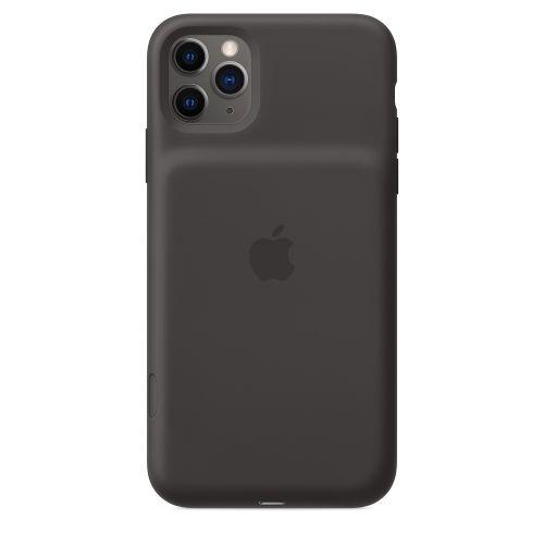 Чехол Apple Smart Battery Case MWVP2ZM/A для iPhone 11 Pro Max, black чехол аккумулятор apple smart battery case для apple iphone 11 pro белый