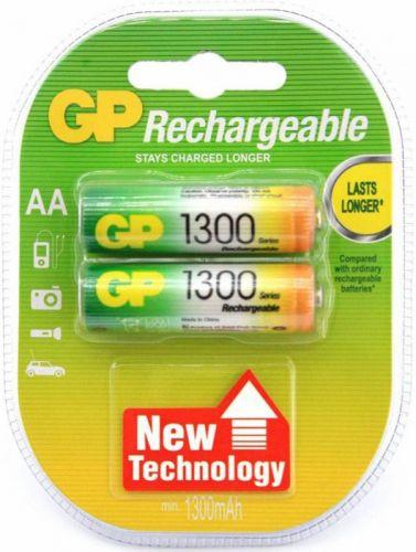 Аккумулятор GP 130AAHC 1.2V, 1300mAh, 2шт, size AA