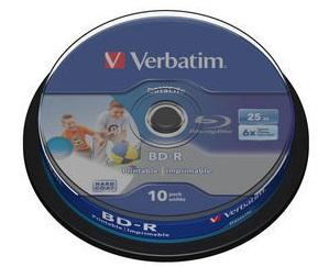 43804 Диск BD-R Verbatim 43804