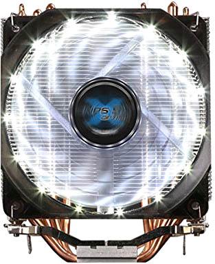 Кулер Zalman CNPS9X Optima S775/1150/51/55/56/AM2/2+/AM3/3+/FM1/2 (600 ~ 1500rpm, 26dBA, 60.98 CFM, PWM, LED, 4 тепловые трубки, Al+Cu, 4-pin) Retail