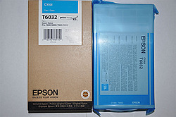 Картридж Epson C13T603200 для принтера Stylus Pro 7800/9800/7880/9880 голубой