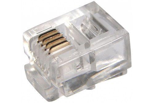 Разъем PROCONNECT 05-1012-3 джек телефонный 6P4C коннектор rj 12 6p4c 100шт proconnect 05 1012 3