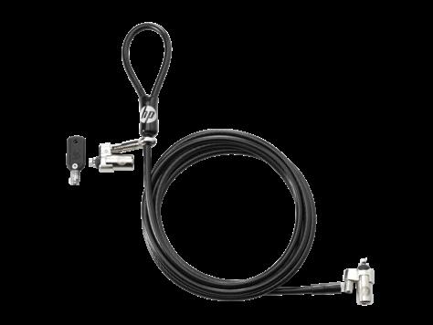 Трос безопасности HP T1A64AA Dual Head Keyed Cable Lock