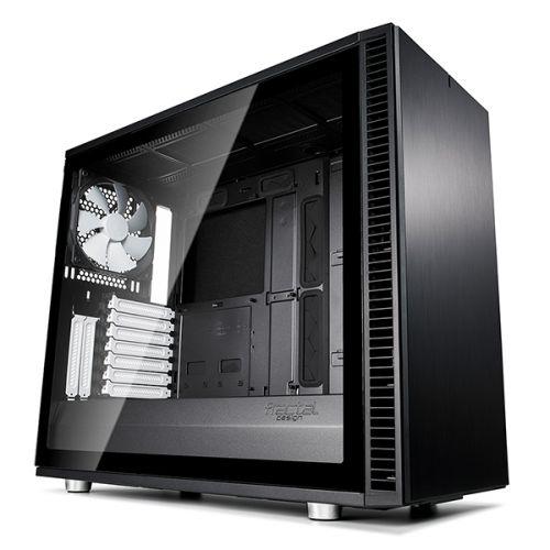 Фото - Корпус ATX Fractal Design Define S2 TG FD-CA-DEF-S2-BK-TGL черный, без БП, с окном из закаленного стекла, 2xUSB 2.0, 2xUSB 3.0, USB Type-C, Audio корпус fractal design define mini c tg fd ca def mini c bk tg черный
