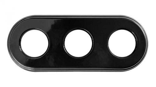 Рамка Bironi BF2-630-03 черная, 3-ая, керамика рамка bironi bf2 630 02 коричневый фарфор 3 я