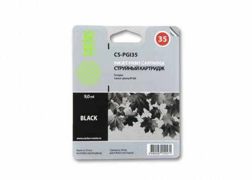 Картридж Cactus CS-PGI35 черный для Canon Pixma IP100 (9мл)