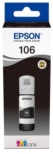 Контейнер Epson C13T00R140 для L7160/L7180, с черными водорастворимыми фото-чернилами