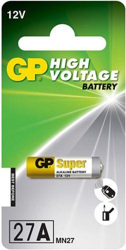 Батарейка GP 27A 12V, MN27, 1шт