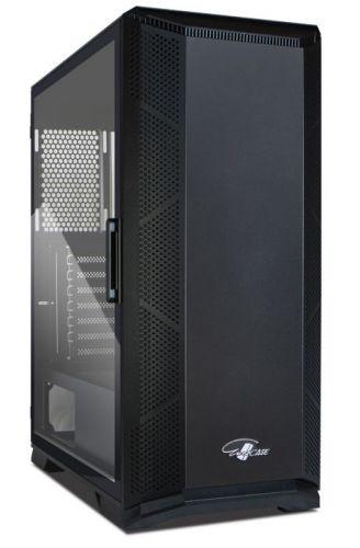 Корпус ATX Eurocase K517 без БП закаленное стекло USB 3.0