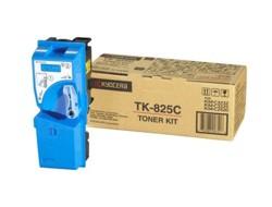 Тонер-картридж Kyocera TK-825C 1T02FZCEU0 для МФУ KM-C2520, KM-C2525E, KM-C3232, KM-C3232E, KM-C4035E Cyan 7 000 коп