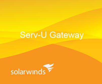 SolarWinds Serv-U Gateway Annual Maintenance Renewal