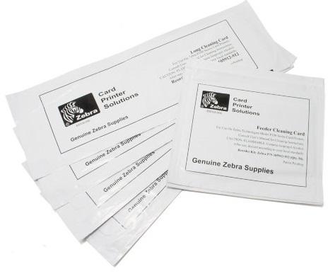Комплект Zebra 105999-311 чистящих карт для ZC100 5 карт недорого