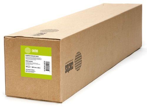 Холст Cactus CS-MC400-61015 Холст Cactus 24(A1) 610мм-15.2м/400г/м2/белый хлопок для струйной печати втулка:50.8мм (2)