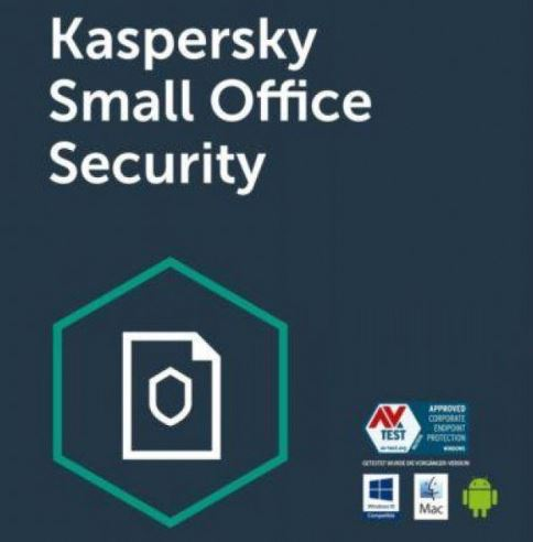 Kaspersky Small Office Security 6. 15-19 Mobile device; 15-19 Desktop; 2 FileServer; 15-19 User 1 ye