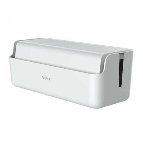 Короб Orico CMG-16 пластиковый для кабелей и зарядных устройств, белый