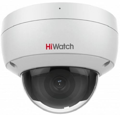 Фото - Видеокамера IP HiWatch IPC-D022-G2/U 2Мп с EXIR-подсветкой до 30м 1/2.8 Progressive Scan CMOS, 2.8мм, 107°, механический ИК-фильтр, 0.005лк F1.6, H.2 видеокамера ip hikvision ds 2cd2023g0 i 6mm 2мп 1 2 8 cmos exir подсветка 30м 6мм 54° механический ик фильтр 0 01лк f1 2 h 265 h 265 h 264