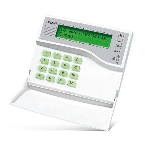 Клавиатура SATEL INT-KLCDK-GR ЖКИ для ПКП INTEGRA и CA-64 , 2 строки по 16 символов, зеленая подсветка клавиш и дисплея