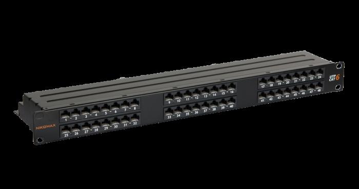 NikoMax NMC-RP48UE2-1U-BK