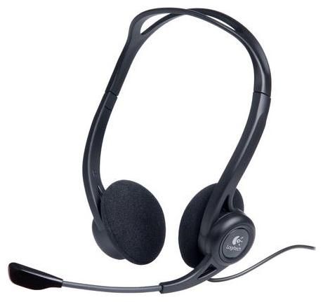 Logitech Гарнитура проводная Logitech Stereo Headset 960 USB (981-000100)