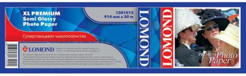 Бумага Lomond 1201012 XL Premium Semi Glossy Photo Paper, ролик 914мм х 50,8 мм, 200 г/м2, 30 метров.