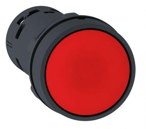 Кнопка Schneider Electric XB7NA45 22мм красная с возвратом НО + НЗ