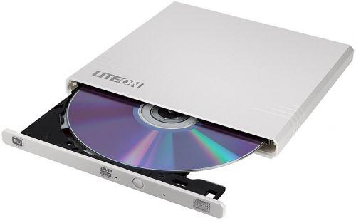 Привод DVD±RW внешний LITE-ON eBAU108-21 White USB 2.0 slim ext M-Disk RTL