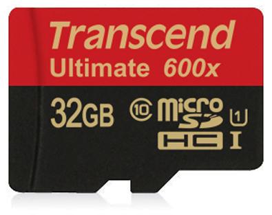 Фото - Карта памяти 32GB Transcend TS32GUSDHC10U1 microSDHC Class 10 UHS-1 Ultimate,600x карта памяти transcend micro sdhc ultimate 600x 16gb class 10 переходник в комплекте ts16gusdhc10u1