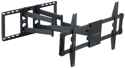 Кронштейн настенный Kromax ATLANTIS-70 Kromax_20253 для LED/LCD TV 32-75, макс. 101кг, 4ст.свободы, от стены 80-710мм, VESA 800x600, черный