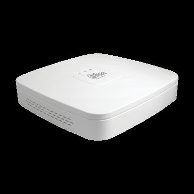 Видеорегистратор Dahua DHI-NVR4108-4KS2/L 8-и канальный 4K, вх поток на запись: до 80Мбит/с, H.264/H.265/Smart H.264+/Smart H.265+, до 8Мп, HDD: 1 SAT