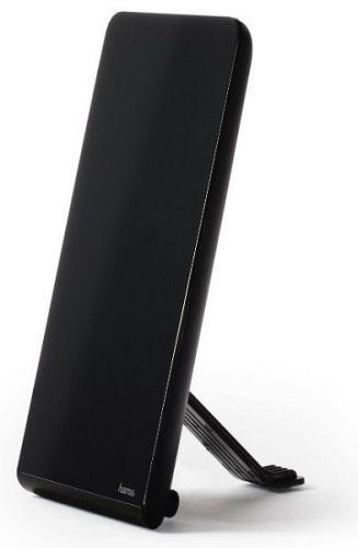Антенна активная HAMA 00121663 телевизионная черный каб.:1.5м