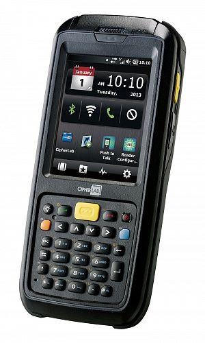 Терминал сбора данных Cipher A607WCNLD3RUN CP60 L WCE BT/WIFI/GPS/ QVGA, камера 5mpix, Russian