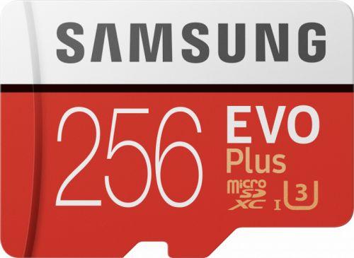 Фото - Карта памяти 256GB Samsung MB-MC256HA/RU microSDXC EVO Plus UHS-I U1 Class 10 RTL карта памяти samsung 64gb evo plus v2 microsdxc class 10 u1 sd adapter mb mc64ha