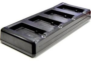 Зарядное устройство PointMobile PM66-4SBC0-2 четырехслотловое, для аккумуляторов ТСД Point Mobile PM66, БП