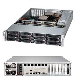 Корпус серверный 2U Supermicro CSE-826BE1C4-R1K23LPB 2x1200W, черный корпус supermicro cse 836ba r920b черный